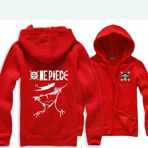 One Piece Monkey D. Luffy Hoodie - Hoodielovers