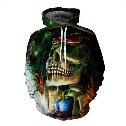 Brook Soul King 3D Hoodie - One Piece - Hoodielovers