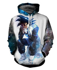 Dragon Ball Super Z Hoodie - Black Goku Evil Thought Moment Unisex Design - Hoodielovers