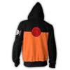 Image of Naruto Hoodie - Naruto Uzumaki Zip Up Jacket - Hoodielovers