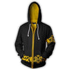 Image of TRAFALGAR LAW COAT COSPLAY ZIP UP HOODIE - ONE PIECE JACKET - Hoodielovers