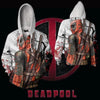 Image of Dead Pool Action Hoodie - Dead Pool Zip Up Jacket - Hoodielovers