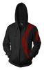 Image of Warcraft HORD Zip-up Hoodie - 3D Warcraft Hoodie - Hoodielovers
