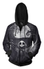 Image of Night Mare  Zip-up Hoodie - 3D Hoodie - Hoodielovers