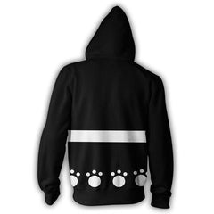 BARTHOLOMEW KUMA ZIP UP HOODIE - ONE PIECE JACKET