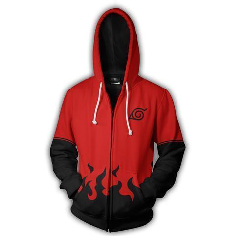 NARUTO SAGE MODE ZIP UP HOODIE - Hoodielovers