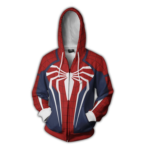 Spiderman Hoodie - Spiderman Jacket - Zip Up - Hoodielovers