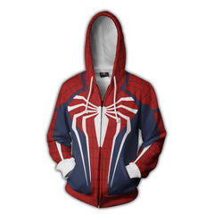 Spiderman Hoodie - Spiderman Jacket - Zip Up