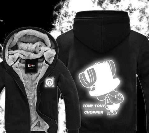 Luminous Fluorescence One Piece Hoodie - Winter Hoodies - Tonny Chopper - Hoodielovers