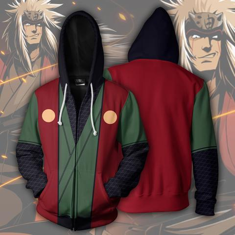 BLACK FRIDAY DEAL Naruto Bundle# 10 | TWO Zip Up In ONE - Hoodielovers