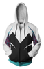 Image of Spider Gwen Hoodie - Comic Spider Gwen Zip Up Jacket - Hoodielovers