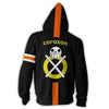 Image of TRAFALGAR LAW CORAZON ZIP UP HOODIE - ONE PIECE HOODIE - Hoodielovers