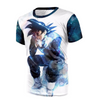 Image of Dragon Ball Super Z Hoodie - Black Goku Evil Thought Moment Unisex Design - Hoodielovers