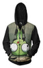 Image of Invader Zim Fall Down Hoodie - Zim Invader Zip Up Jacket - Hoodielovers