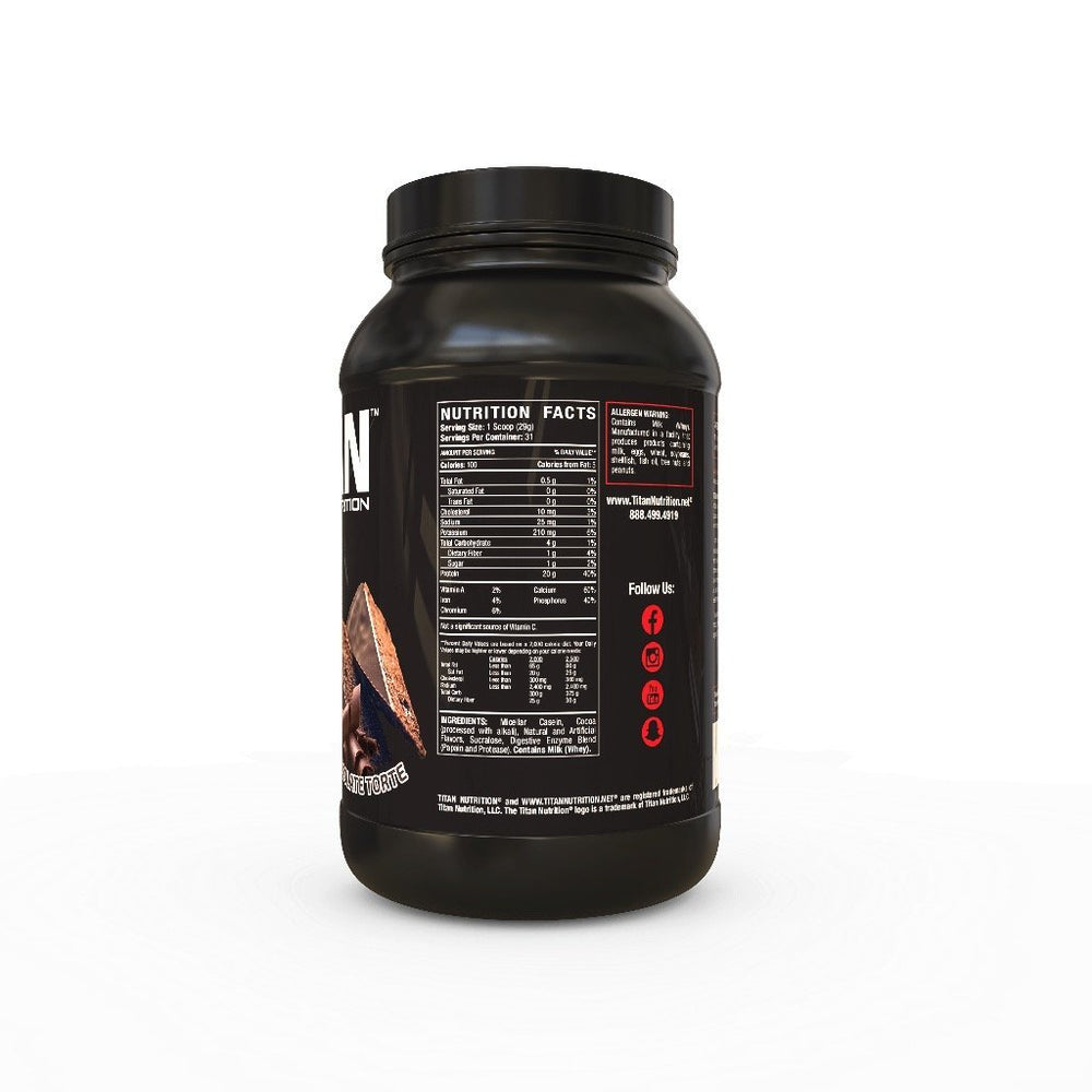 Load image into Gallery viewer, Titan Casein Protein - SUSTAINED RELEASE 100% MICELLAR CASEIN