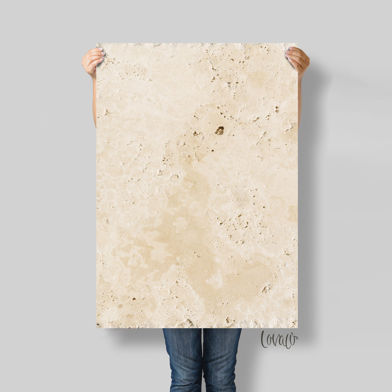 Photography backdrop beige stone - lov2030
