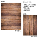 Old rustic wood vinyl photography backdrop - Lov 449