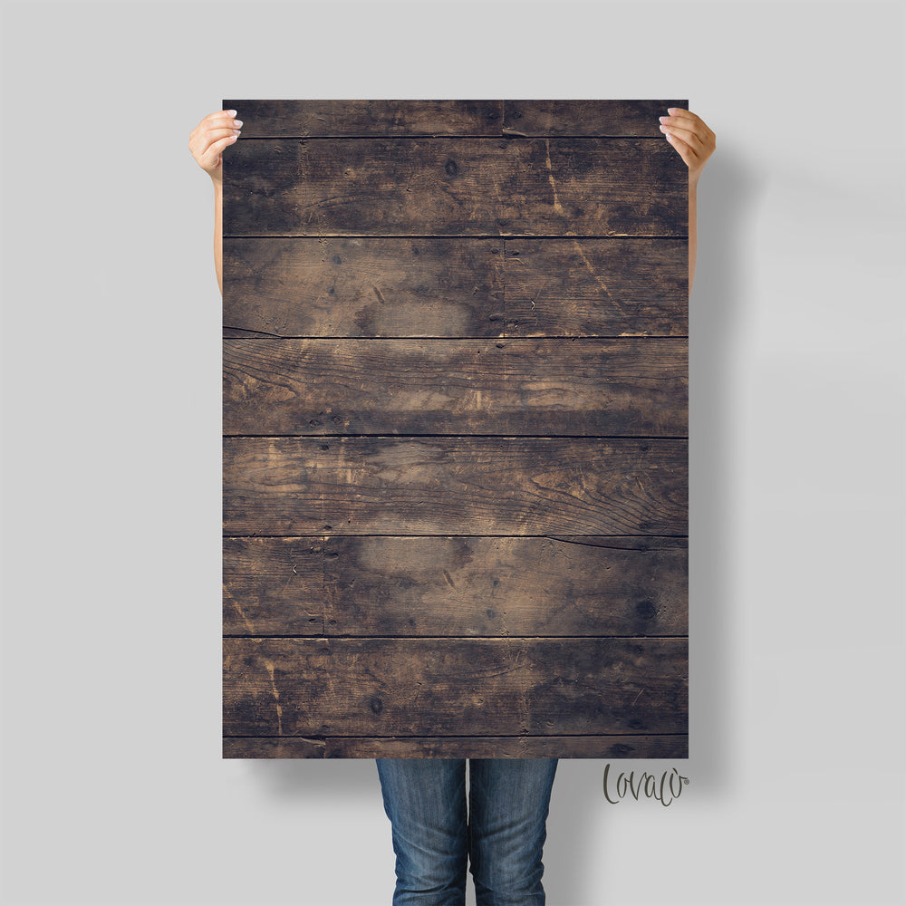 Photography backdrop old wood - Lov834