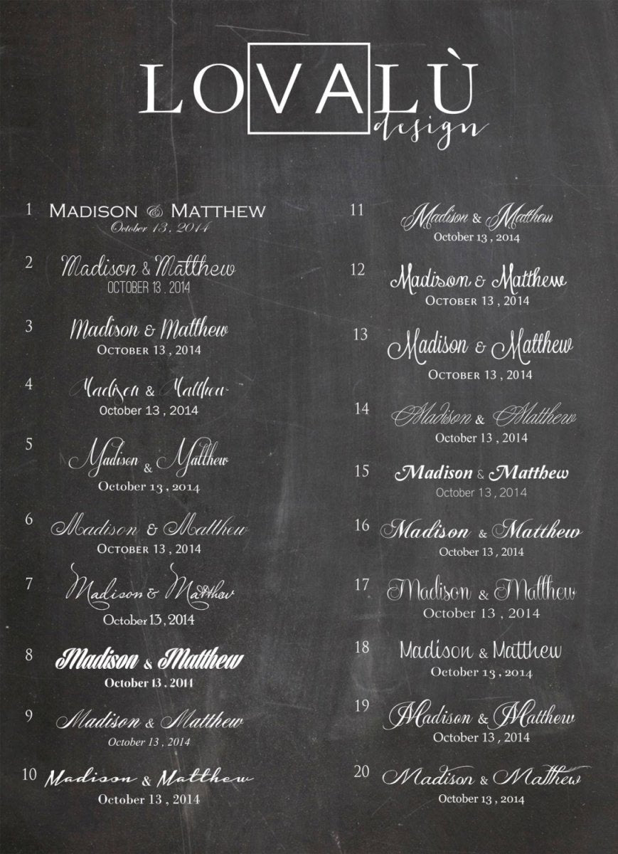 Customized Printable Wedding Guestbook 150 signatures No shipping cost Choose the color and number of signatures File ready for printing - LovaluDesign
