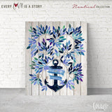 Guest Book for wedding Nautical, Guest book wedding ideas, Alternative Wedding Guest Book, Guest book wedding beach ideas, Guest book leaves - LovaluDesign