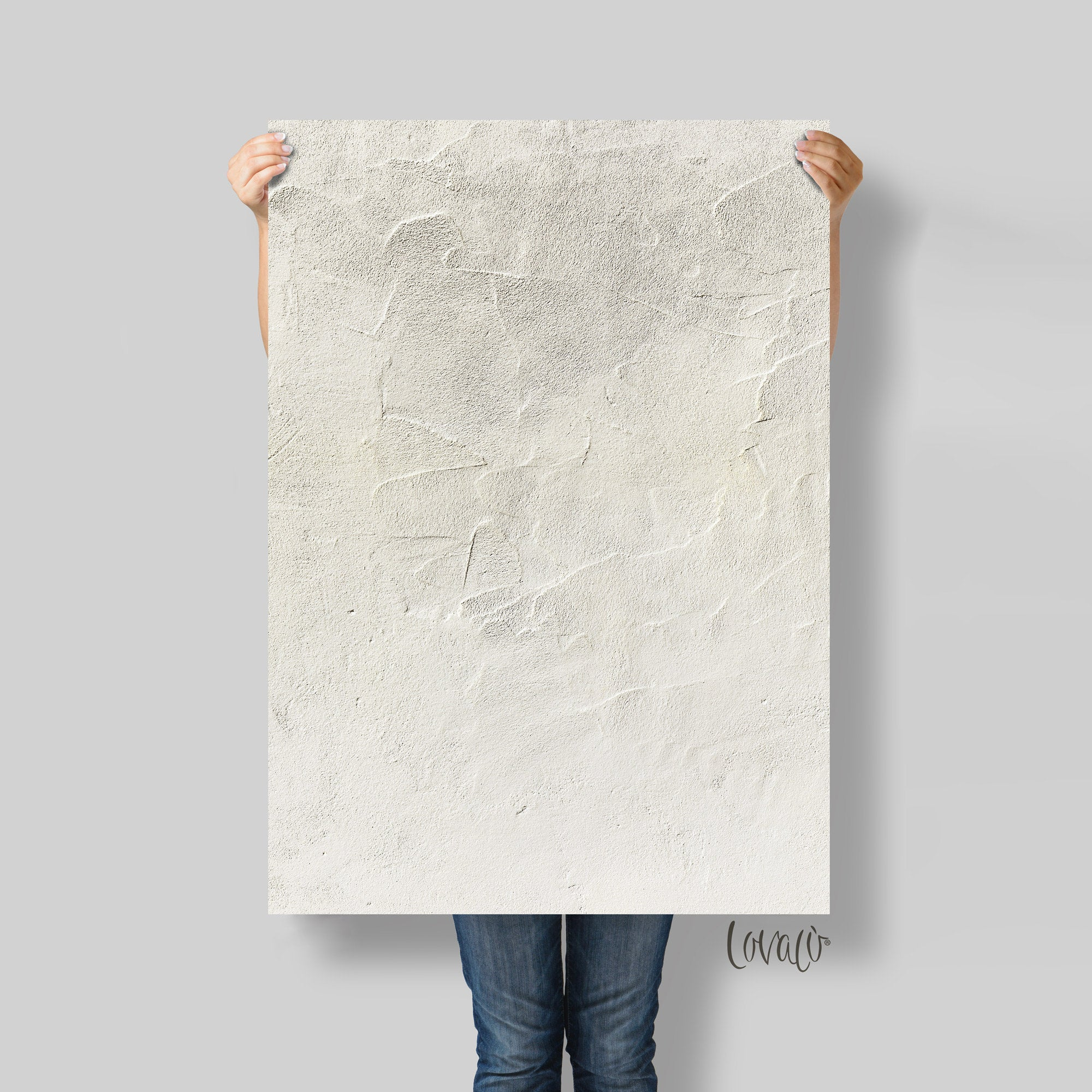 Old stucco wall Vinyl Photography Backdrop for Product, Instagram, Flat lay & Food Photography - Lov2049