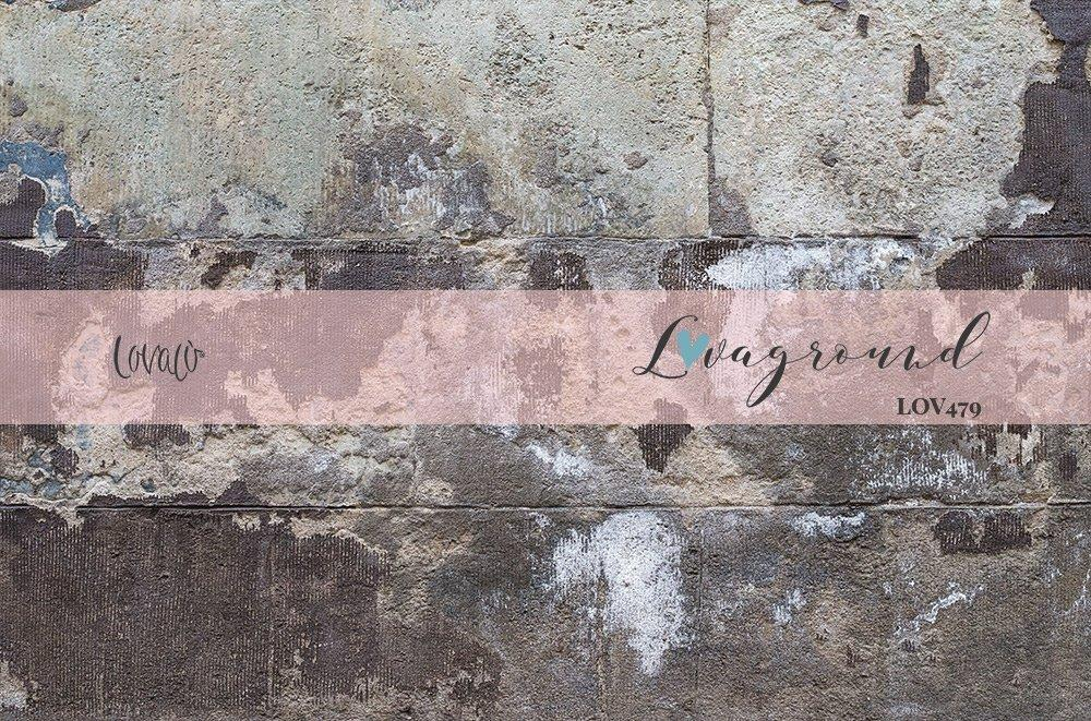Old wall concrete vinyl photography backdrop - lov 479