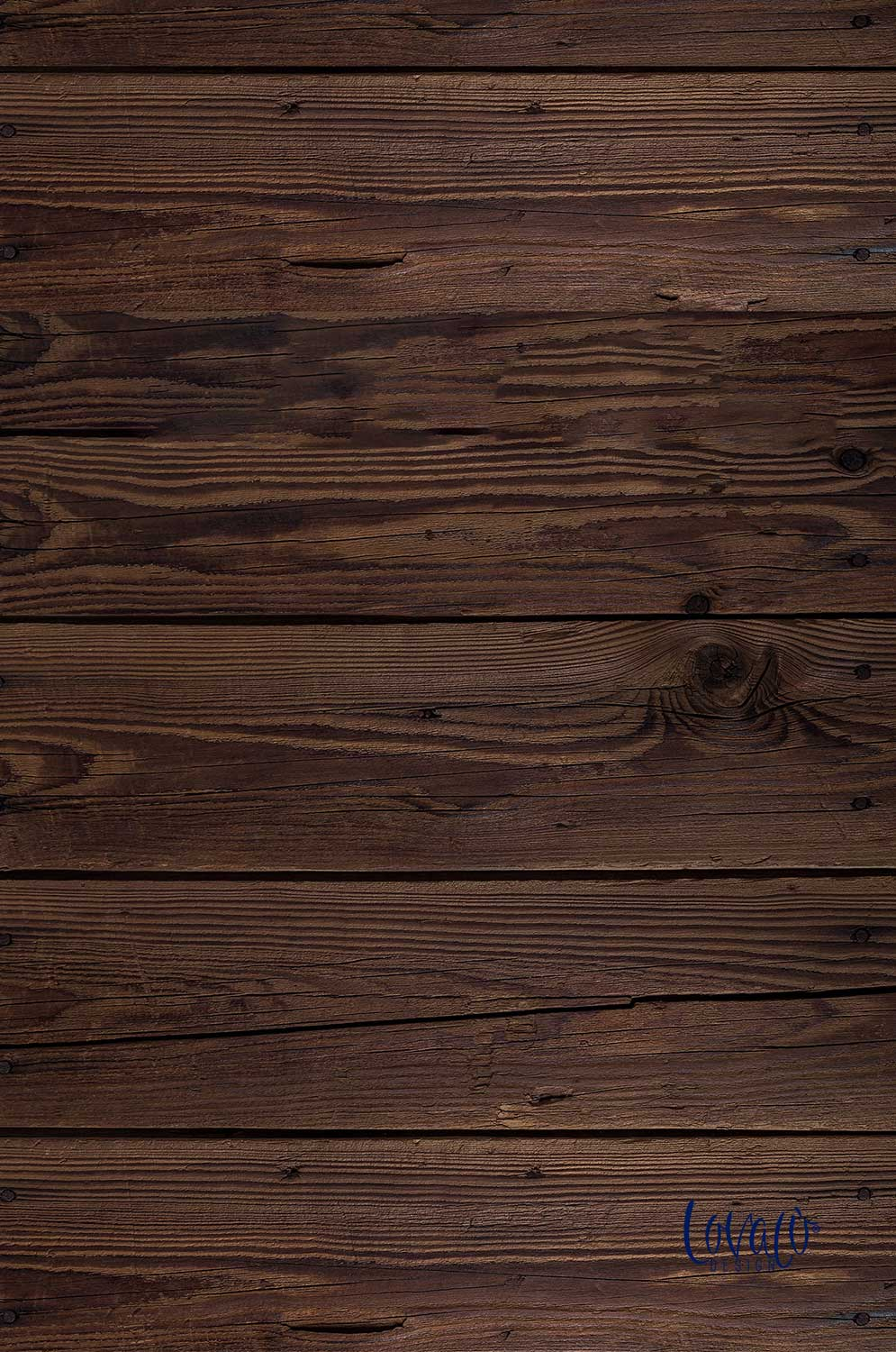 Old wood vinyl photography backdrop - Lov 276