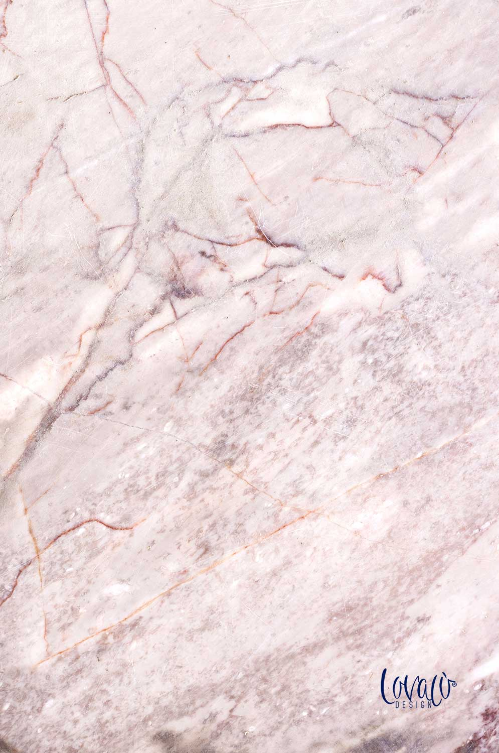 Pink marble backdrop vinyl photography backdrop - Lov 158