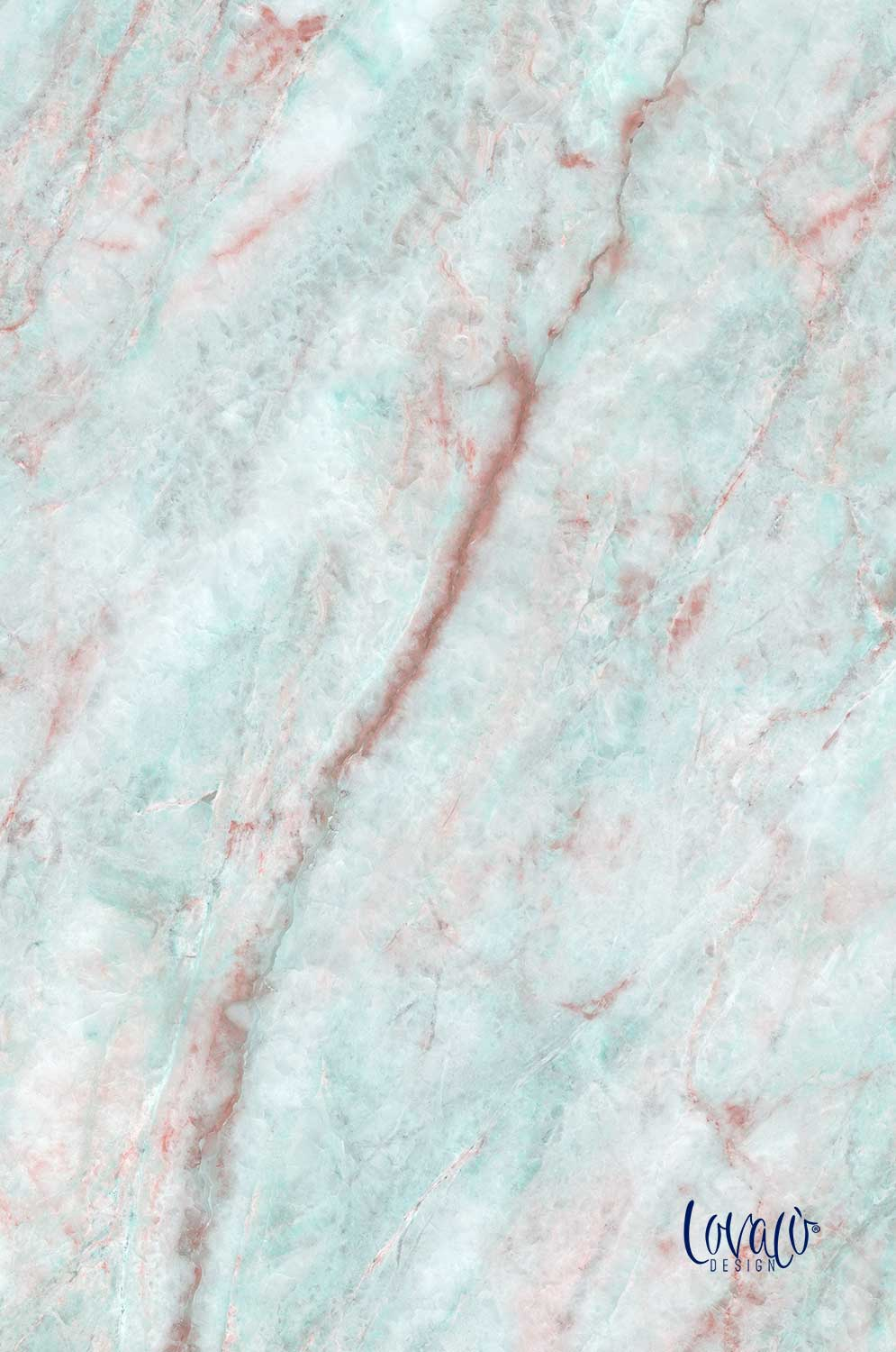 Photography Backdrop marble pink blue - lov 2004