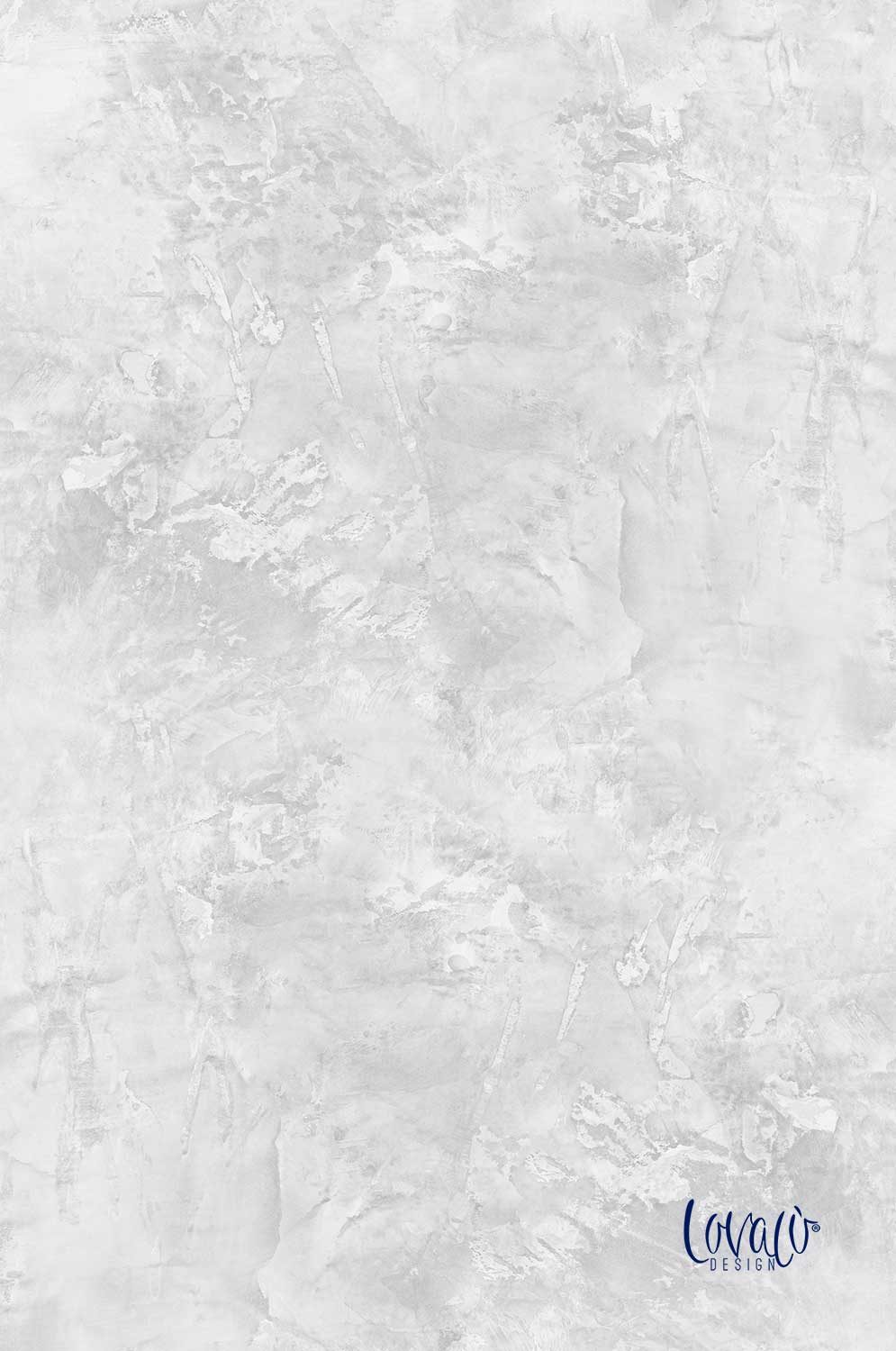 Vinyl photography backdrop white grey abstract paint - Lov 709
