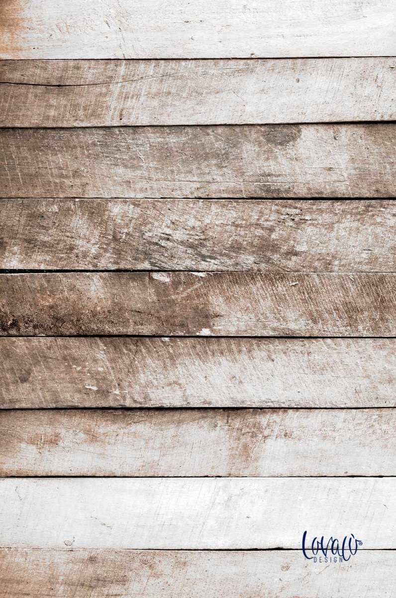 Photography Backdrop old wood plank vinyl - Lov 611 - LovaluDesign