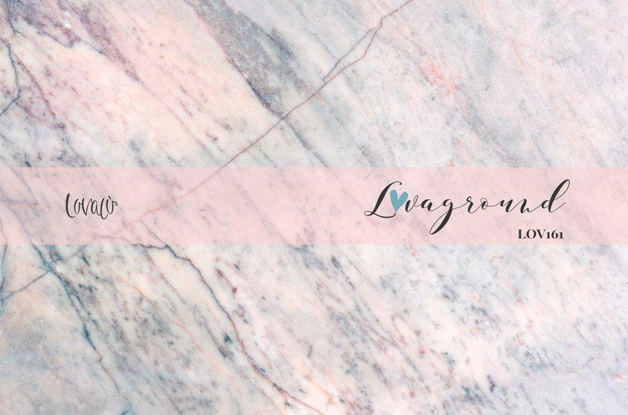 Photograpy backdrop pink blue marble - Lov161 - LovaluDesign