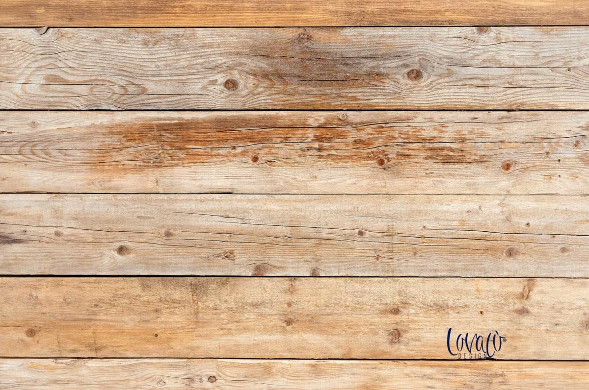 PVC Photography Backdrop natural wood - lov 2008 - LovaluDesign