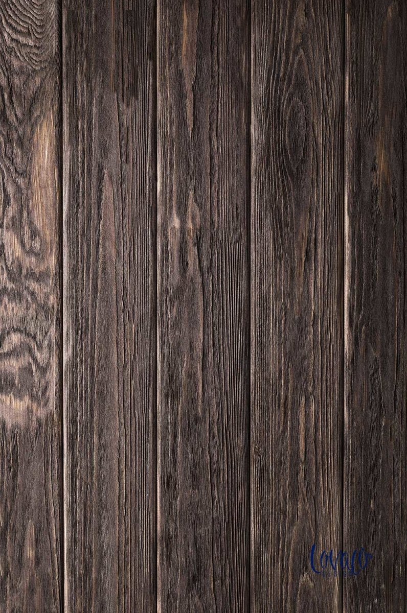 Rustic wood vinyl photography backdrop - Lov 278 - LovaluDesign