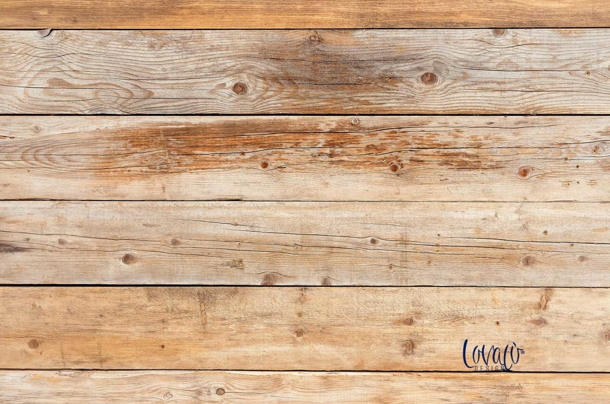Shabby wood vinyl photography backdrop - Lov 1003 - LovaluDesign