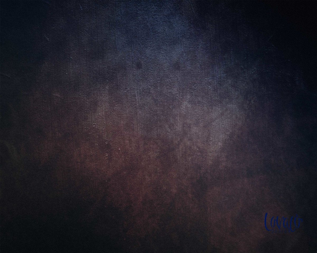 Vinyl photography backdrop dark abstract paint - Lov 826 - LovaluDesign
