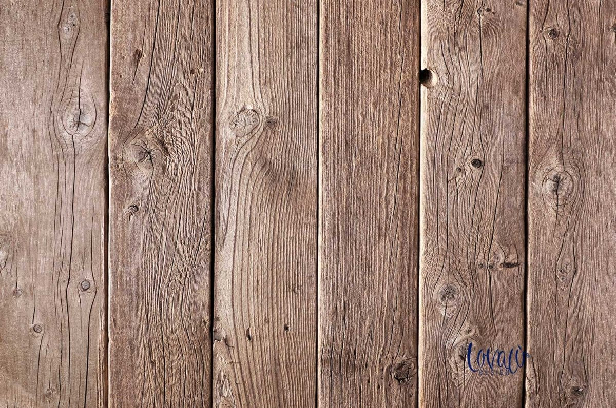 Vinyl photography backdrop natural wood - Lov 829 - LovaluDesign