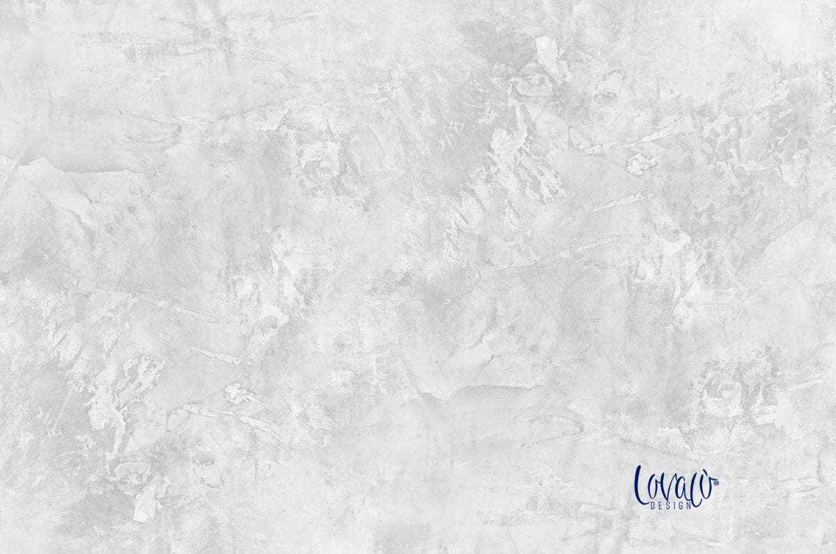 Vinyl photography backdrop white grey abstract paint - Lov 709 - LovaluDesign