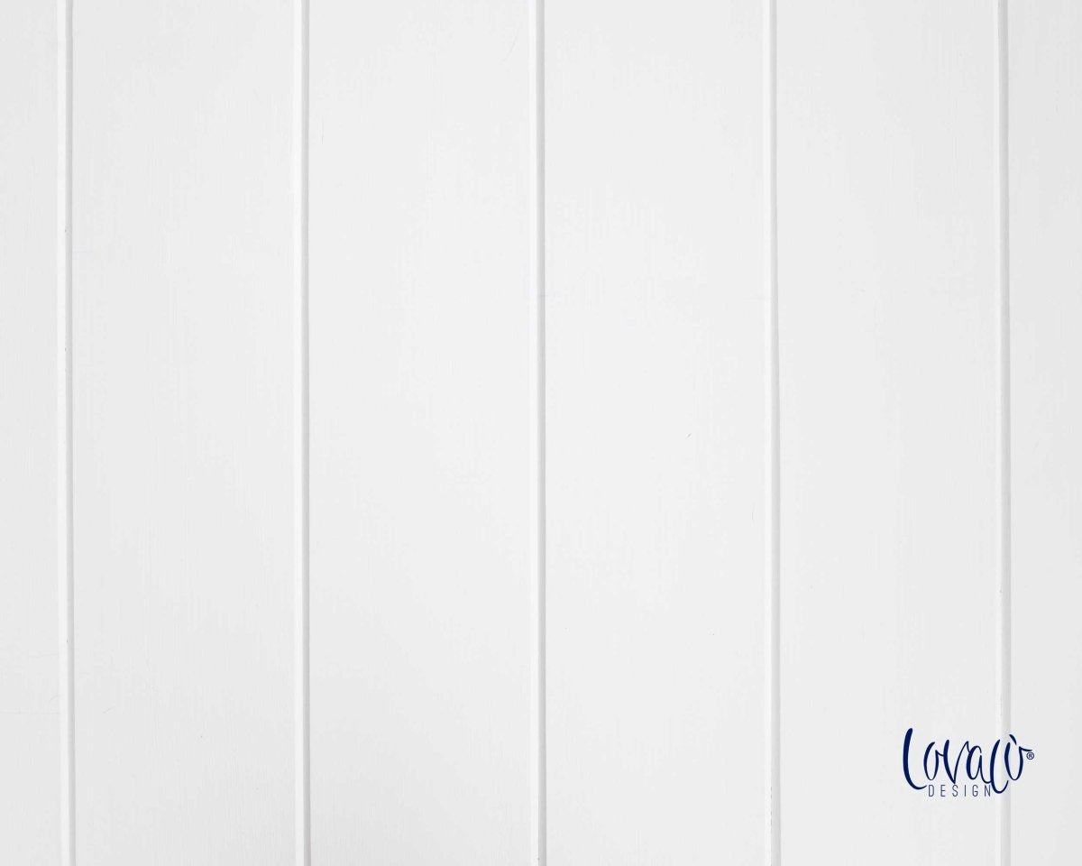 Vinyl photography backdrop white wood - Lov 725 - LovaluDesign