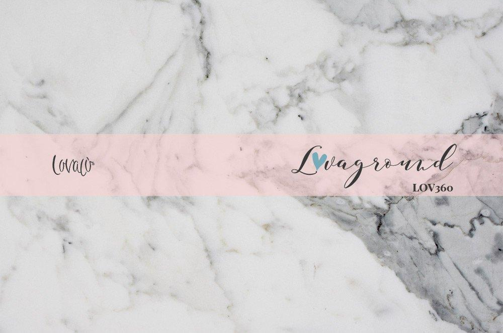 White marble vinyl photography backdrop - Lov 360 - LovaluDesign