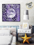 Wishing stars guest book alternative | Wedding Stars Guest Book Alternative | Unique Wedding Keepsake | Stars Signature Canvas - LovaluDesign