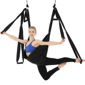 1 Aerial Yoga Hammock - black / China