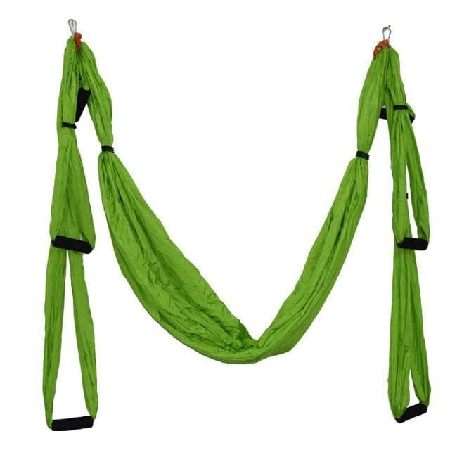 1 Aerial Yoga Hammock - green / China