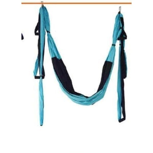 1 Aerial Yoga Hammock - Sky blue-black / China