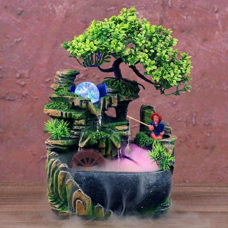 #1 Mystic Garden Tabletop Fountain