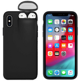 2-In-1 iPhone & AirPods Case - Buy 1 get 30% off 2nd - iPhone 8 plus / black - phone accessories