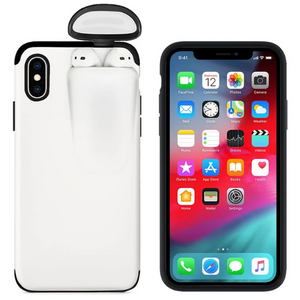 2-In-1 iPhone & AirPods Case - Buy 1 get 30% off 2nd - iPhone 7 8 / white - phone accessories