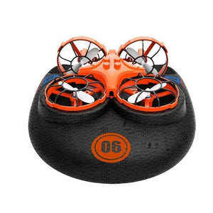 3-In-1 Air Land & Water Hovercraft Drone - gadgets