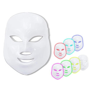 7 LED Light Facial Mask Therapy - Beauty