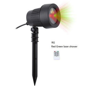 Any Occasion Laser Light Projector - Static RG / AU Plug - Decor